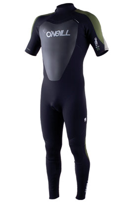 Spring wetsuit with short arms