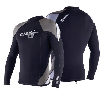Wetsuit jacket without a zipper