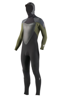 5/3 wetsuit with hood