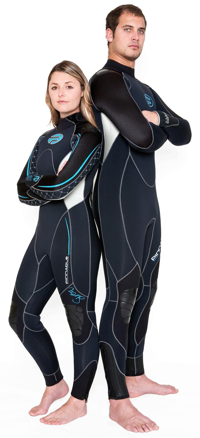 Pinnacle diving wetsuit