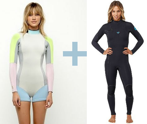 two-wetsuits